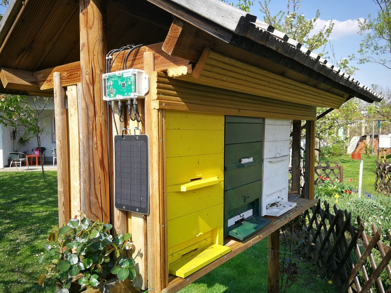 Bienenstockwaage - installationsbeispiel